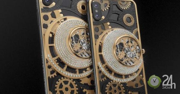 Khám phá iPhone XS/XS Max chạm khắc titan, gắn kim cương có giá hơn 500 triệu