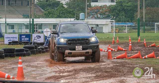 Sự kiện lái thử Ford SUV Drive - Thách thức mọi giới hạn