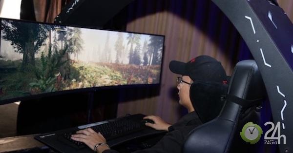 Cận cảnh chiếc ghế Predator Thronos - ngai vàng cho game thủ, giá 10.000 USD