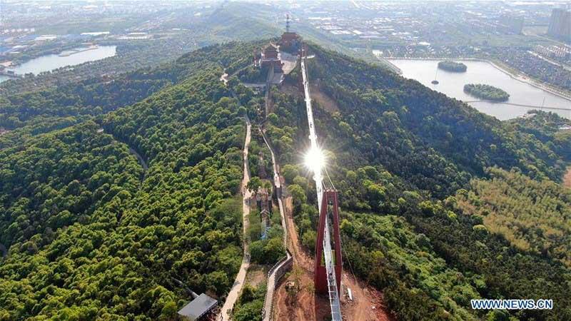 Khám phá cầu kính Giang Âm dài hơn 500m tại Giang Tô, Trung Quốc - 4
