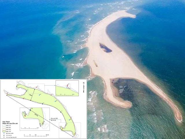 """Tin tức trong ngày - """"Đảo khủng long"""" ở biển Cửa Đại bồi xói rất nhanh, lên tới 50m/tuần"""