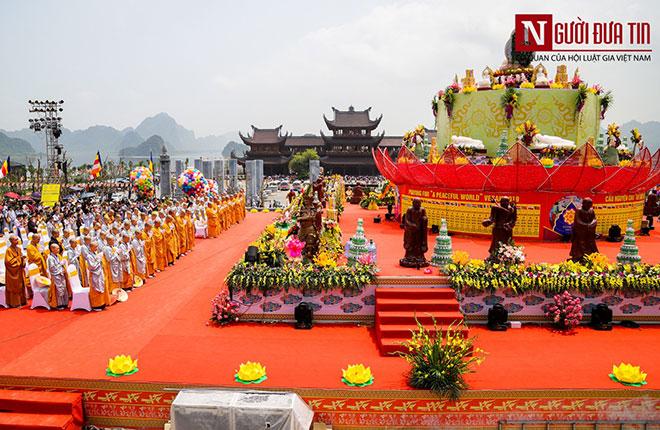 Độc đáo nghi lễ tắm Phật chùa Tam Chúc, mừng Đại lễ Phật đản Vesak 2019 - 9