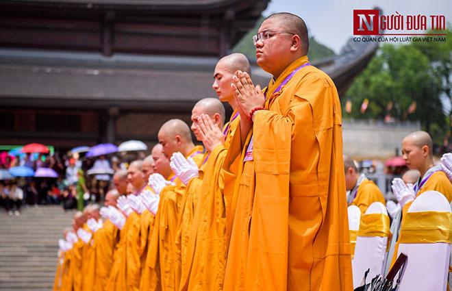 Độc đáo nghi lễ tắm Phật chùa Tam Chúc, mừng Đại lễ Phật đản Vesak 2019 - 3