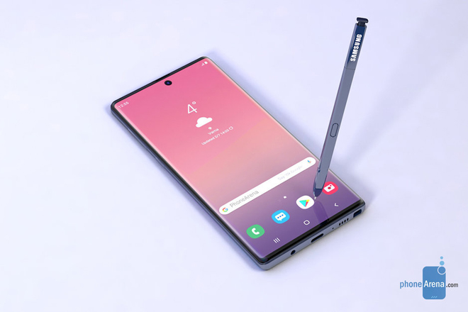 """Galaxy Note 10 sẽ """"phá đảo"""" iPhone với hàng loạt ưu điểm - 3"""