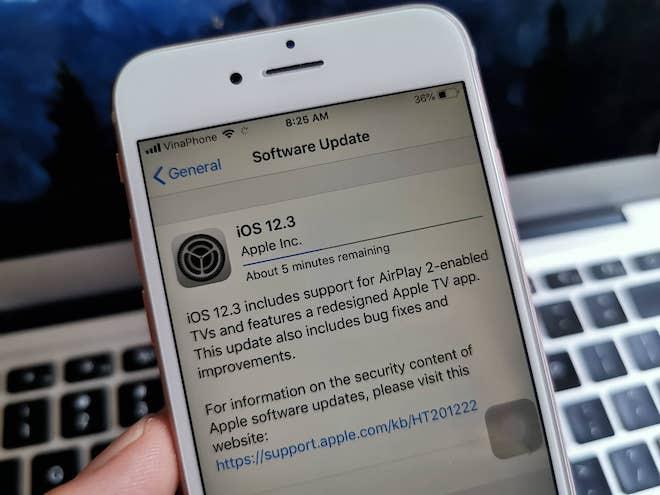 Apple tung bản cập nhật iOS 12.3 trước thềm hội nghị công bố iOS 13 - 1
