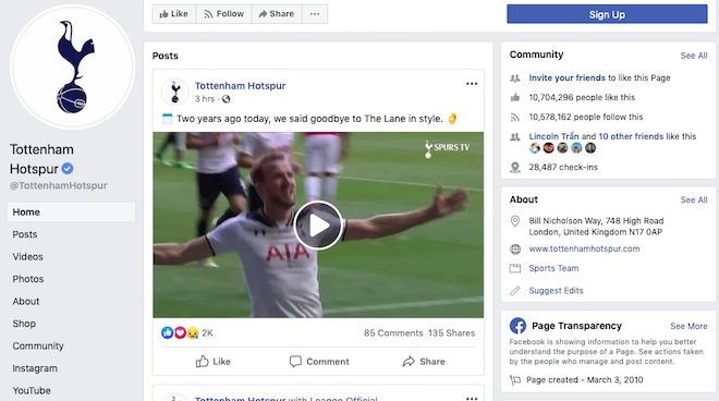 """Liverpool và Tottenham sắp """"đại chiến"""" Chung kết C1: Ai """"hot"""" hơn ai trên Facebook? - 3"""