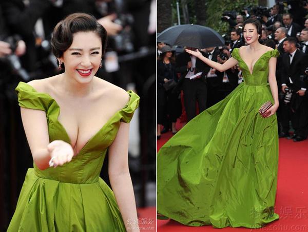 Mỹ nhân nào vượt Phạm Băng Băng trong cuộc chiến thời trang tại Cannes? - 4