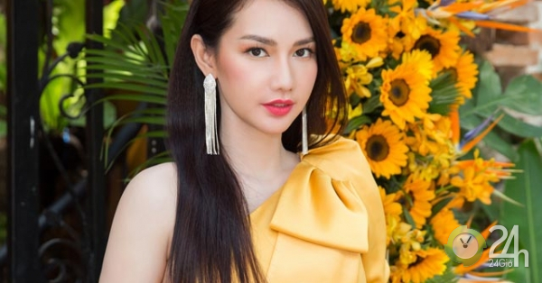 """""""Gái một con"""" Quỳnh Chi khoe vai trần gợi cảm tại sự kiện"""