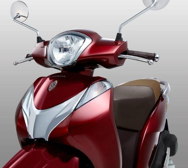 Honda Sh Mode Ra Màu Mới đỏ Nâu Giá 5169 Triệu đồng