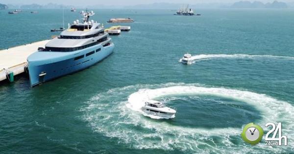 Siêu du thuyền vừa tới vịnh Hạ Long, ông chủ của Tottenham nói điều bất ngờ