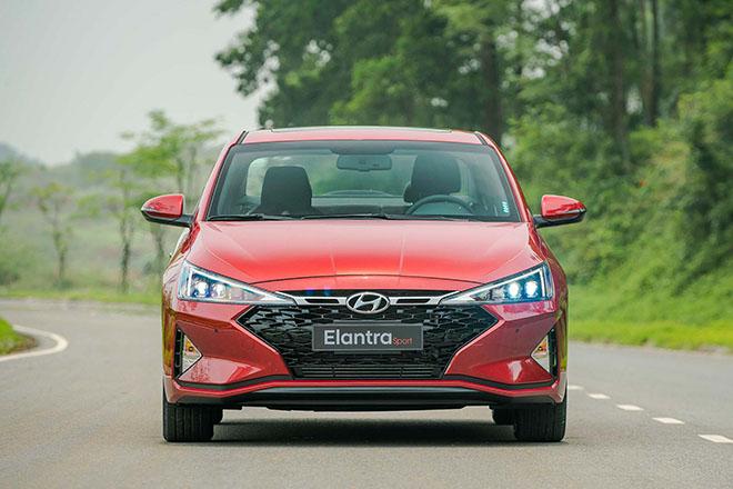 Ngoại hình ấn tượng của Hyundai Elantra Sport 1.6T 2019, nhiều lựa chọn về màu sắc - 1