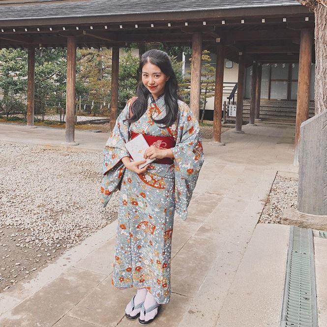 Nhan sắc hot girl Việt làm 'cảnh sát trưởng' ở Nhật Bản - 13