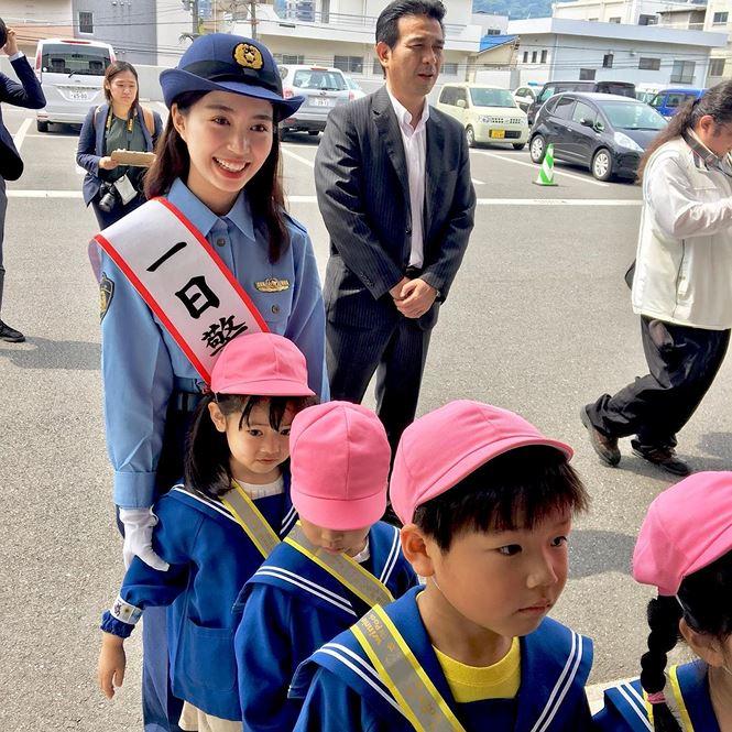 Nhan sắc hot girl Việt làm 'cảnh sát trưởng' ở Nhật Bản - 3