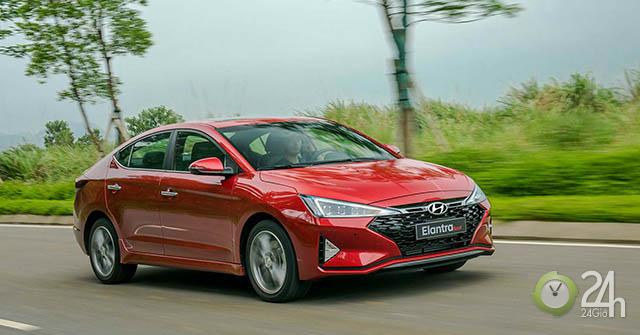 Ngoại hình ấn tượng của Hyundai Elantra Sport 1.6T 2019, nhiều lựa chọn về màu sắc