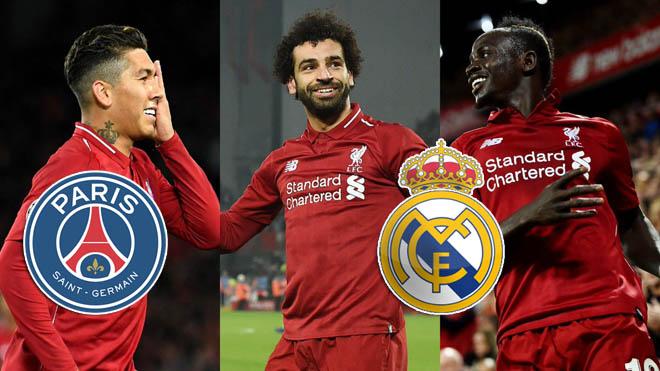 Liverpool thấp thỏm: Salah - Firmino - Mane tan đàn xẻ nghé vì Real, PSG - 1