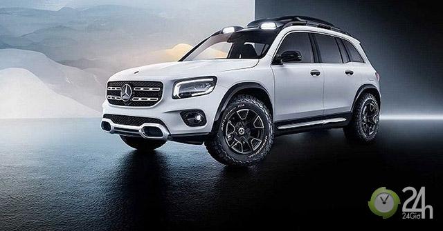 Mercedes-Benz GLB dự kiến sẽ có mặt tại Triển lãm Ô tô Frankfurt 2019
