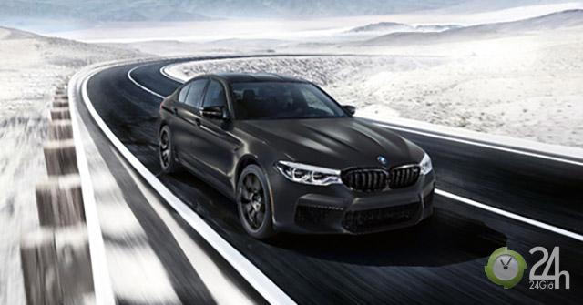 """BMW trình làng M5 """"Edition 35 Jahre"""" với nội thất mạ vàng, giới hạn 350 chiếc"""