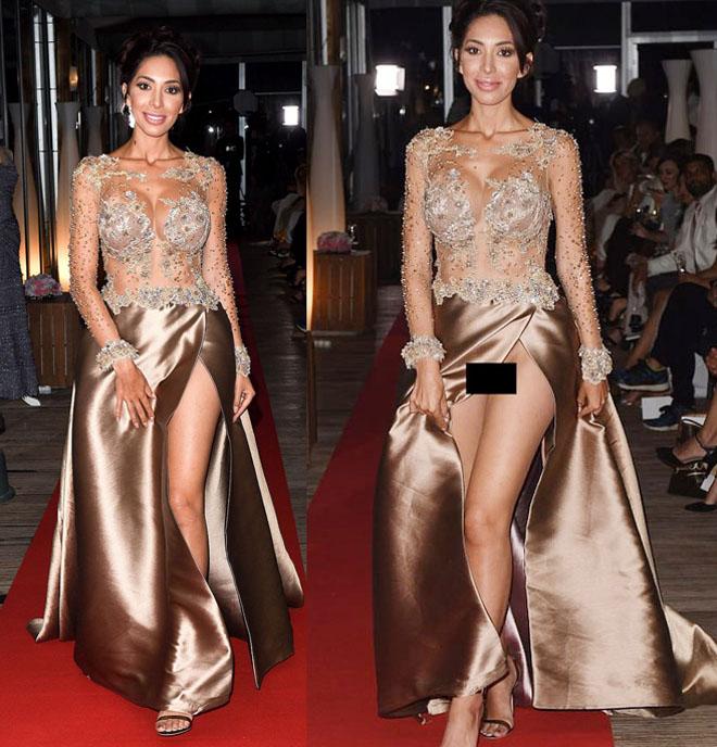 Hàng loạt người đẹp gặp sự cố thời trang ở Cannes - 1