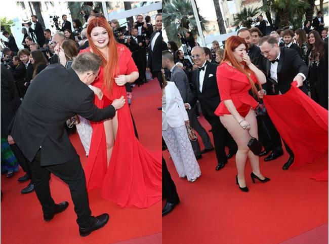 Hàng loạt người đẹp gặp sự cố thời trang ở Cannes - 4