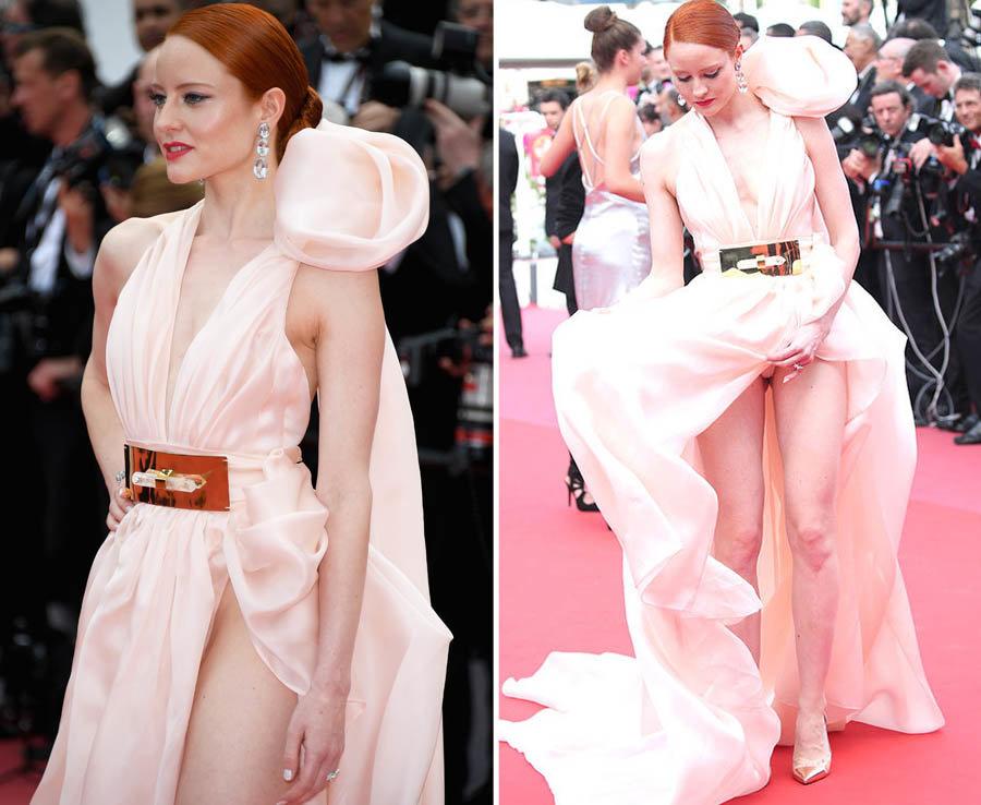 Hàng loạt người đẹp gặp sự cố thời trang ở Cannes - 5