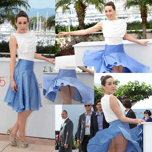 Hàng loạt người đẹp gặp sự cố thời trang ở Cannes - 12