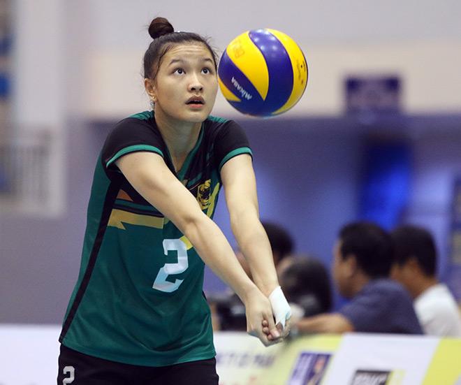 Bất ngờ người đẹp ẵm giải Hoa khôi bóng chuyền VTV9 Bình Điền - 1