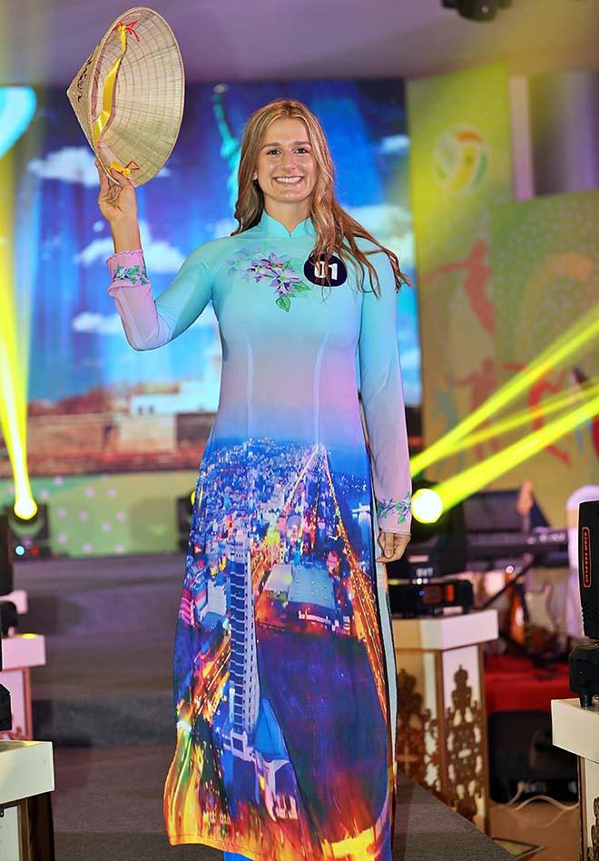 Bất ngờ người đẹp ẵm giải Hoa khôi bóng chuyền VTV9 Bình Điền - 8