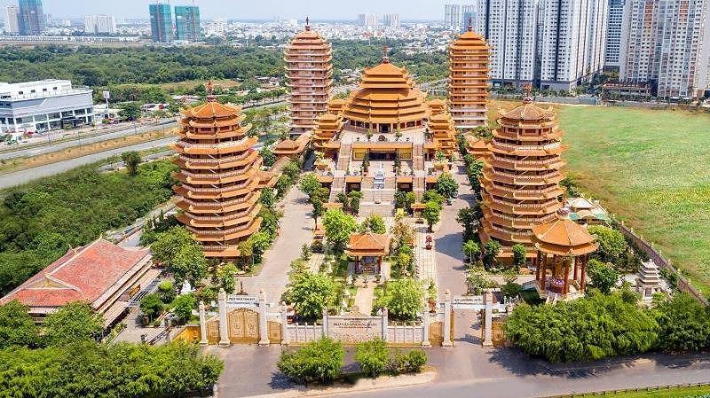 Chiêm ngưỡng ngôi tịnh xá vừa xác lập kỷ lục Việt Nam - 1
