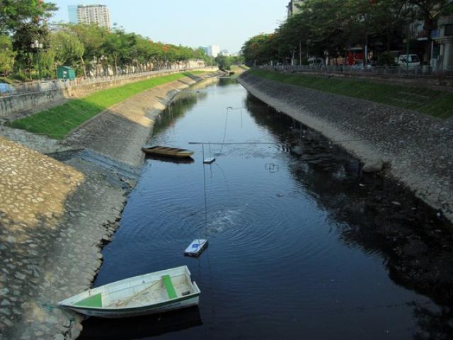 Sông Tô Lịch đang hồi sinh như thế nào?