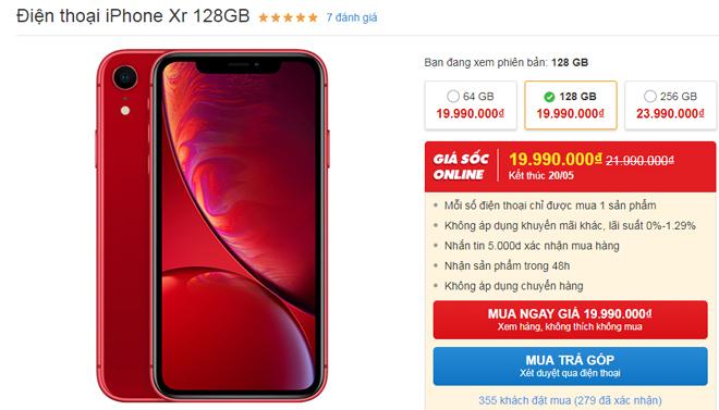 """Top smartphone giảm giá từ 1-4 triệu đồng cực """"nóng"""" tháng 5 - 2"""