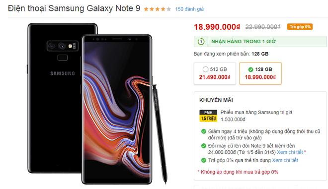 """Top smartphone giảm giá từ 1-4 triệu đồng cực """"nóng"""" tháng 5 - 4"""