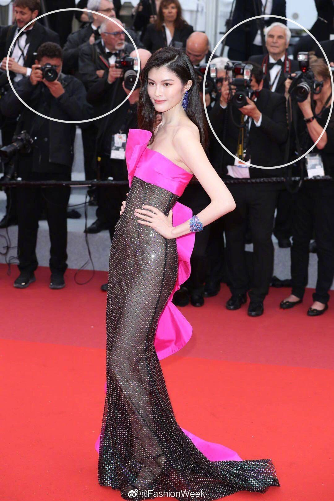 """Thiên thần số 1 châu Á mặc như """"bán khỏa thân"""" trên thảm đỏ Cannes là ai? - 3"""