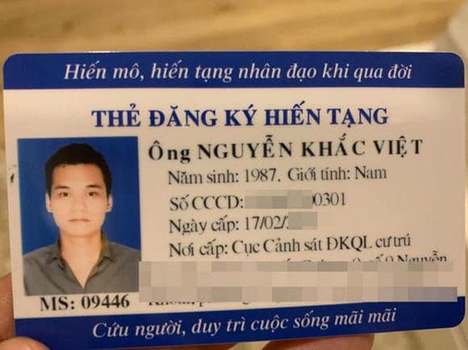 Lý do Khắc Việt vào bệnh viện Chợ Rẫy để đăng ký hiến tạng - 1