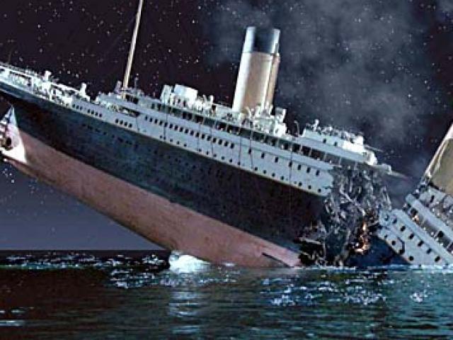 """Tàu Titanic chìm là do núi băng đâm phải vị trí """"chết người"""" này?"""