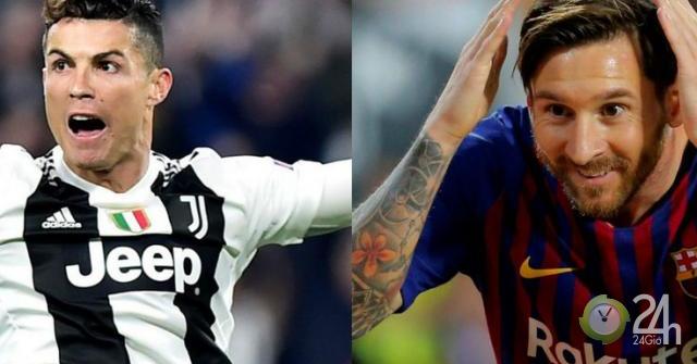 Ronaldo khoe Siêu chiến tích trên mạng xã hội: Messi...