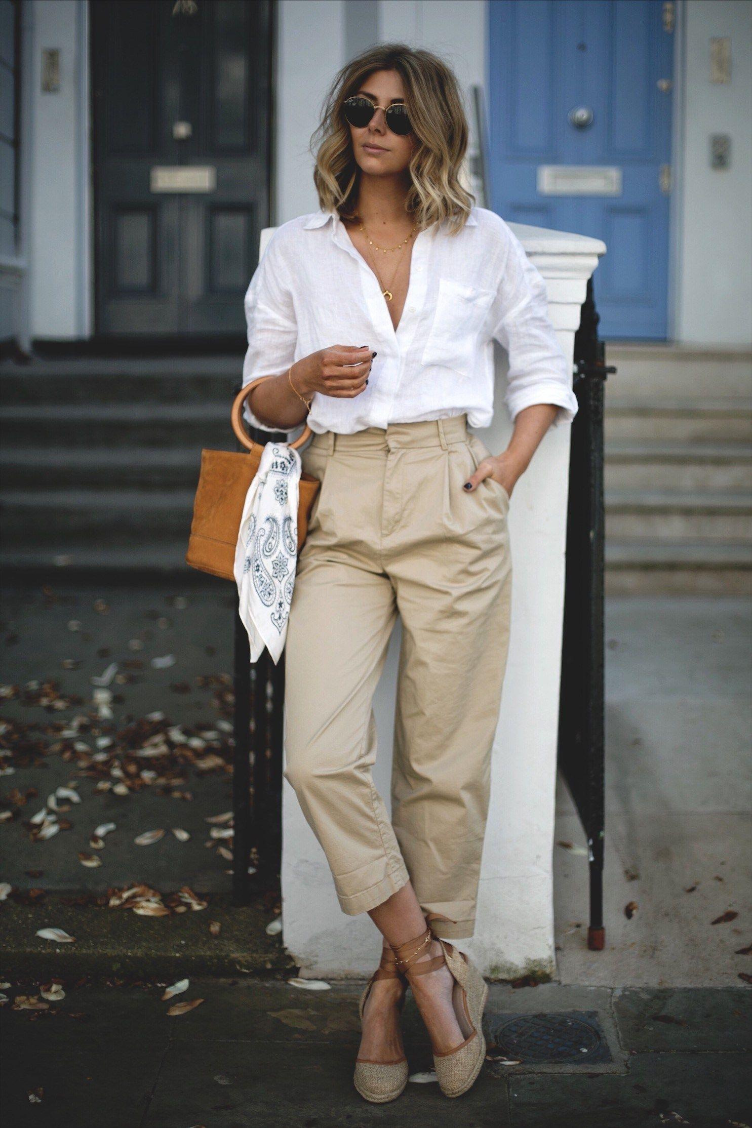 Vải lanh (linen): Chất liệu mát, đẹp, được yêu thích nhất hè 2019 - 6
