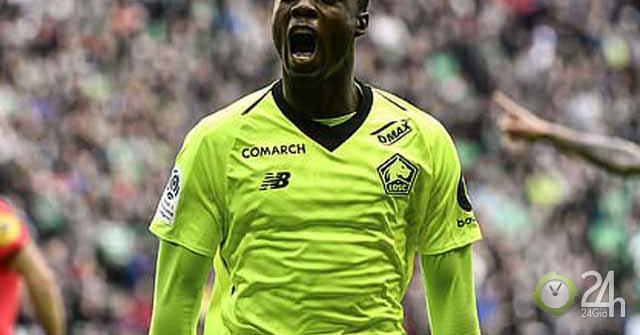 Nicolas Pepe: Mục tiêu MU tiếp bước Drogba ở Ngoại...