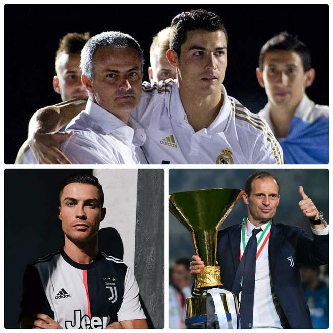 """Bom tấn"" HLV sắp nổ: Mourinho úp mở về Juventus, Ronaldo chờ mở tiệc - 1"