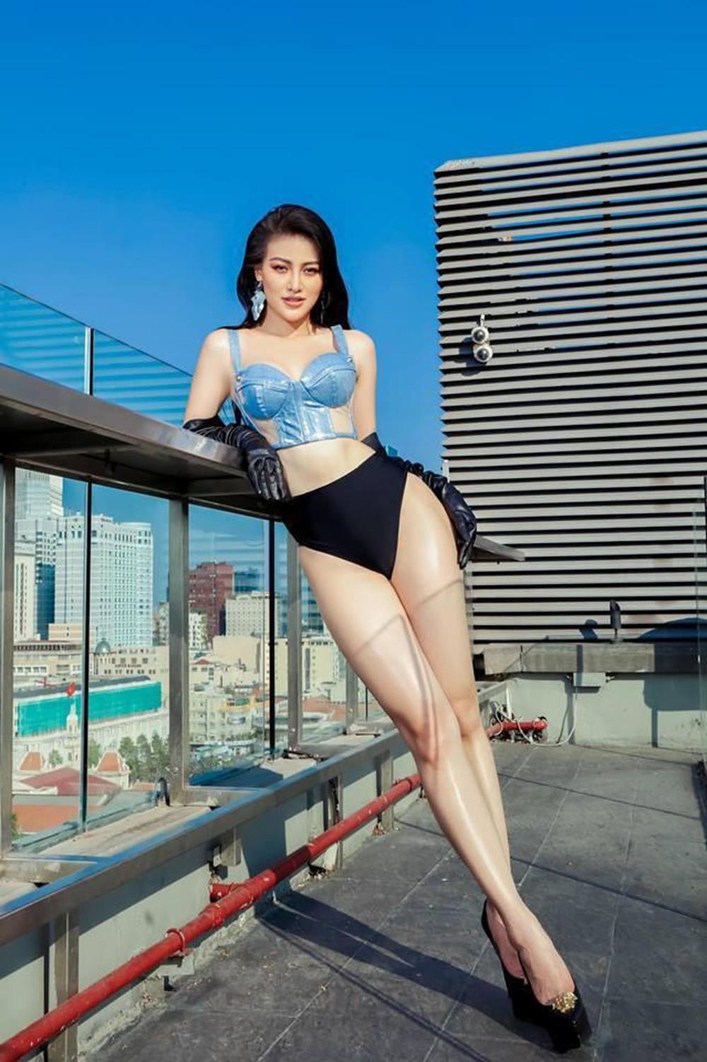 Hoa hậu gốc Bến Tre tiết lộ về khung sắt để bó thân hình đồng hồ cát hoàn hảo - 4