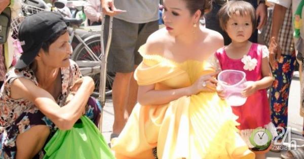 Hoa hậu Bùi Hà nói gì về việc đeo nhẫn kim cương, mặc đồ trăm triệu đi từ thiện?