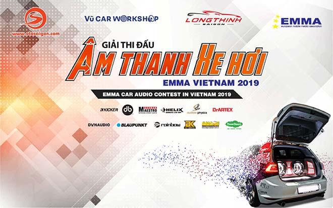 Thông tin chi tiết về Giải thi đấu Âm thanh xe hơi Việt Nam lần thứ 5 - EMMA 2019 - 1