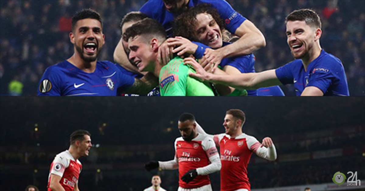 Rực lửa Chelsea - Arsenal chung kết Europa League:...