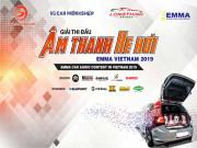 Thông tin chi tiết về Giải thi đấu Âm thanh xe hơi Việt Nam lần thứ 5 - EMMA 2019