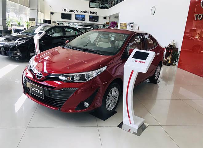 Bảng giá xe Toyota Vios 2019 lăn bánh - Toyota áp dụng nhiều ưu đãi cho khách hàng - 4