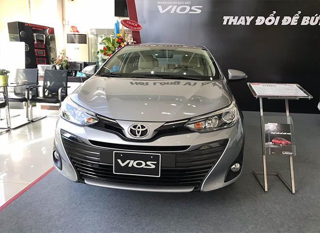 Bảng giá xe Toyota Vios 2019 lăn bánh - Toyota áp dụng nhiều ưu đãi cho khách hàng - 1