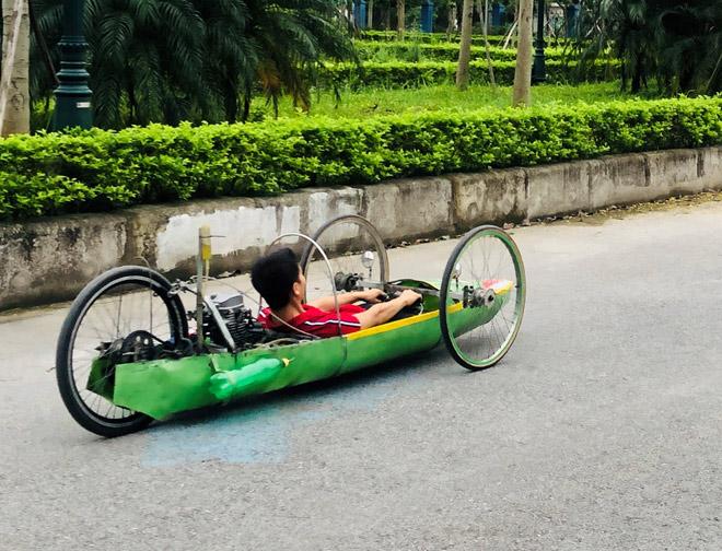"""Cuộc thi """"Lái xe sinh thái – Tiết kiệm nhiên liệu"""" cùng sinh viên Trường Đại học Thành Đô - 5"""