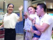 Vợ MC xinh đẹp, giỏi giang của Quốc Cơ sang Hàn Quốc làm sinh viên