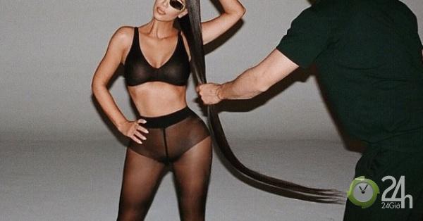 Quảng cáo kính mắt chất như Kim Kardashian