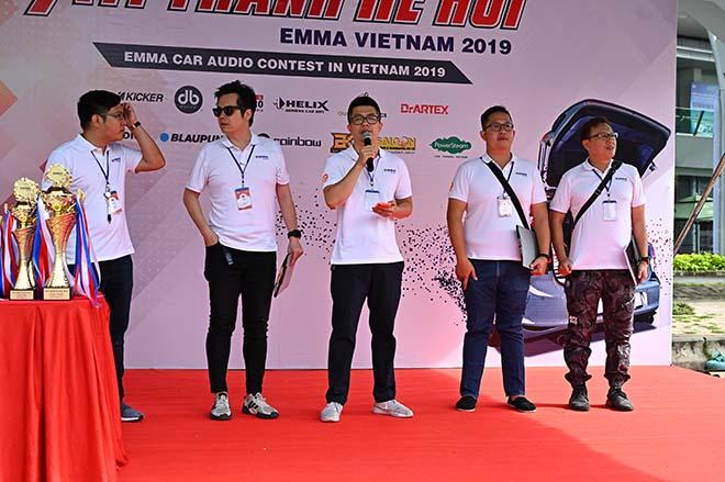 Không khí sôi động tại giải đấu âm thanh xe hơi EMMA 2019 - 1