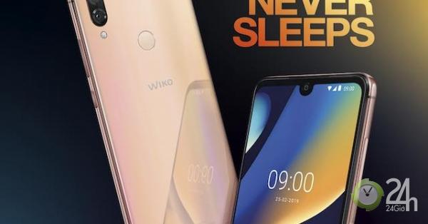 Wiko tung điện thoại View 3 Lite giá rẻ, pin